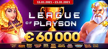 League of Playson - 60.000