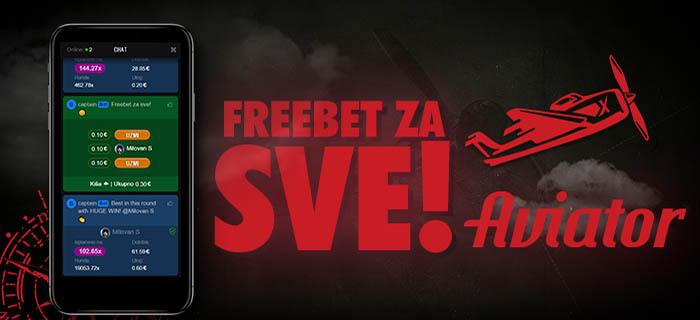 FREEBET ZA SVE!