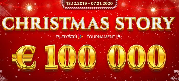 PLAYSON – CHRISTMAS STORY 100.000 EUR