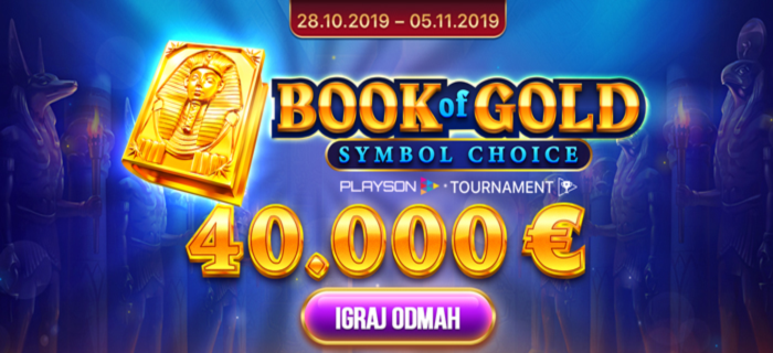 BOOK OF GOLD TURNIR