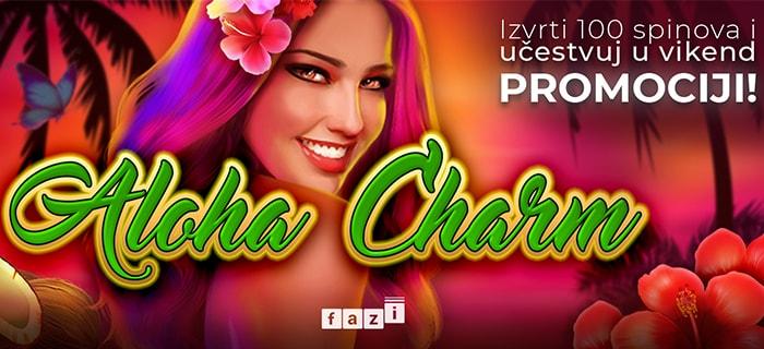 aloha charm promocija